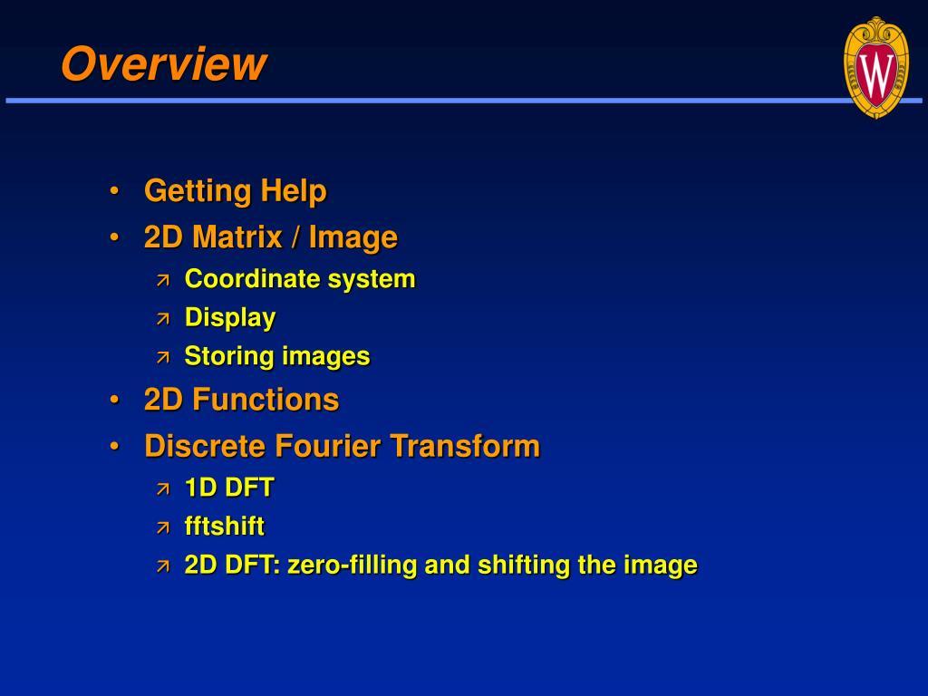 fftshift matlab code