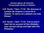j venes dignos de imitaci n young people worthy of imitation28
