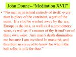 john donne meditation xvii