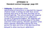 appendix 16 standard contract language page 2431