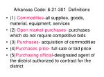 arkansas code 6 21 301 definitions