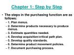 chapter 1 step by step