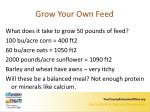 grow your own feed1