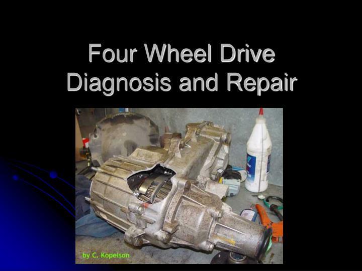 four wheel drive diagnosis and repair n.