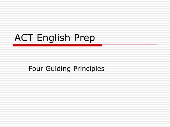 four guiding principles n.