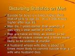 disturbing statistics on men