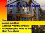 wizard candy joke shops