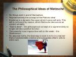 the philosophical ideas of nietzsche