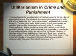 utilitarianism in crime and punishment