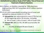 aaaai acaai surveillance study of scit safety time of onset and treatment of systemic reactions