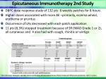 epicutaneous immunotherapy 2nd study
