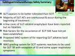 sublingual immunotherapy safety summary1