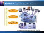 introduction ubiquitous computing environments1