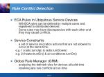 rule conflict detection