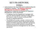 key framework dsma