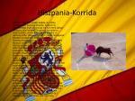 hiszpania korrida