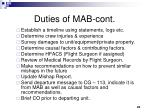 duties of mab cont2