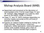 mishap analysis board mab