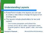 understanding layouts