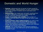 domestic and world hunger3