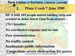 plane crashes in suriname lessons learned3