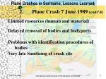 plane crashes in suriname lessons learned4
