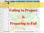 plane crashes in suriname lessons learned9