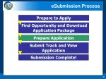 esubmission process2