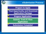 esubmission process3