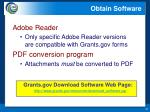 obtain software