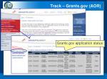 track grants gov aor
