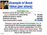example of book value per share