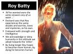 roy batty