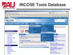 incose tools database