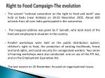 right to food campaign the evolution3