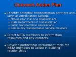 outreach action plan