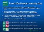 travel washington intercity bus
