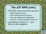 the jcf awe cont1