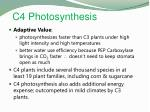 c4 photosynthesis1