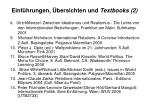 einf hrungen bersichten und textbooks 2
