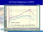 o2 pulse response in copd