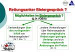 rettungsanker bietergespr ch