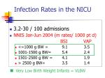 infection rates in the nicu2