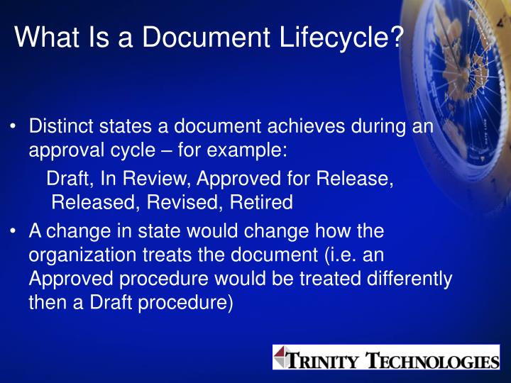 What Is a Document Lifecycle?