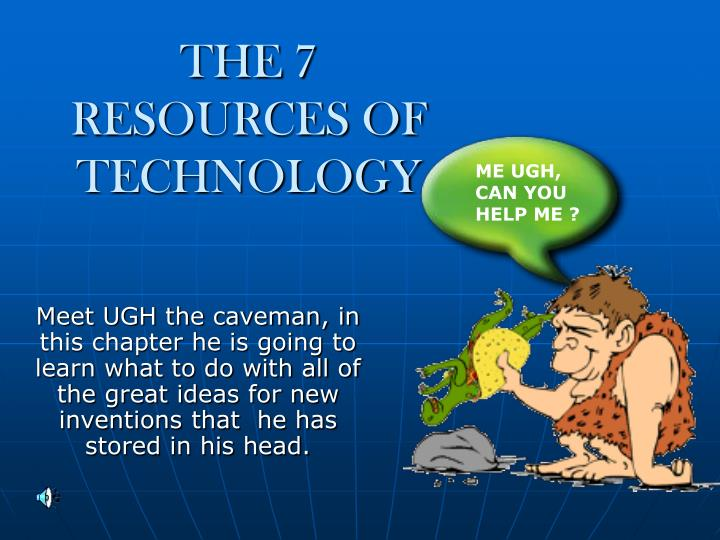 the 7 resources of technology n.