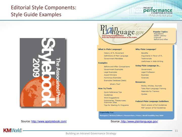 Editorial Style Components: