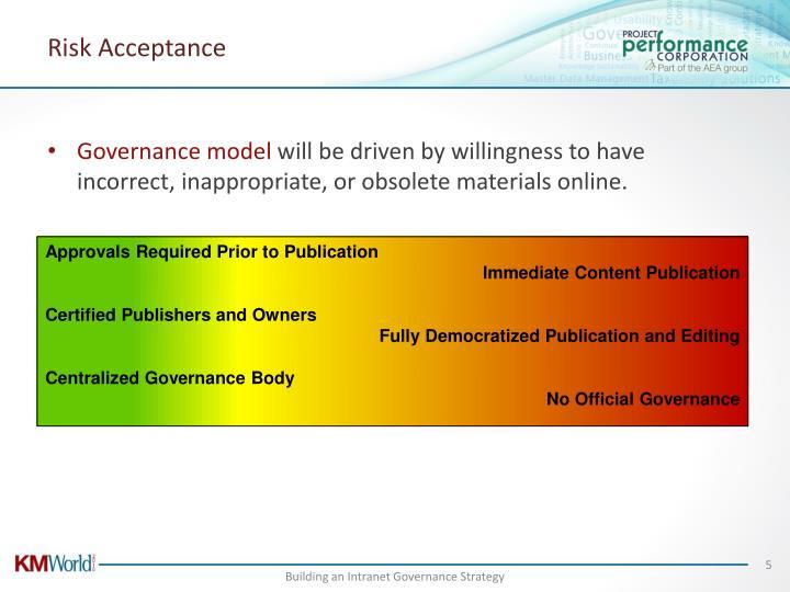 Risk Acceptance
