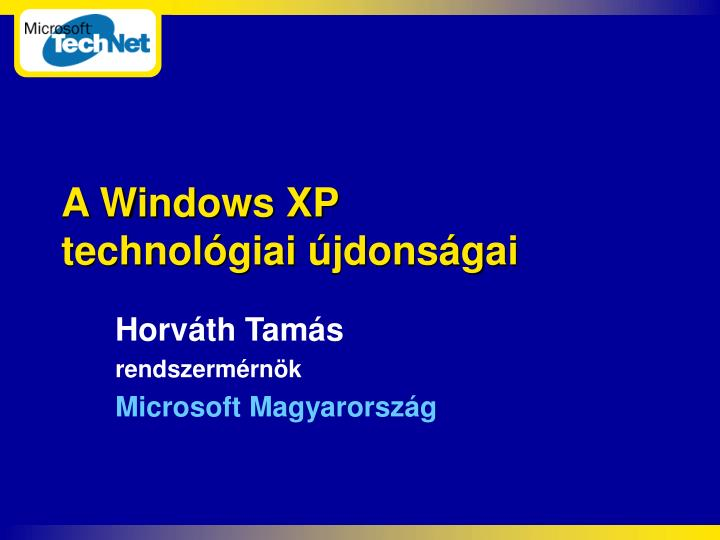 a windows xp technol giai jdons gai n.