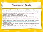 classroom texts1