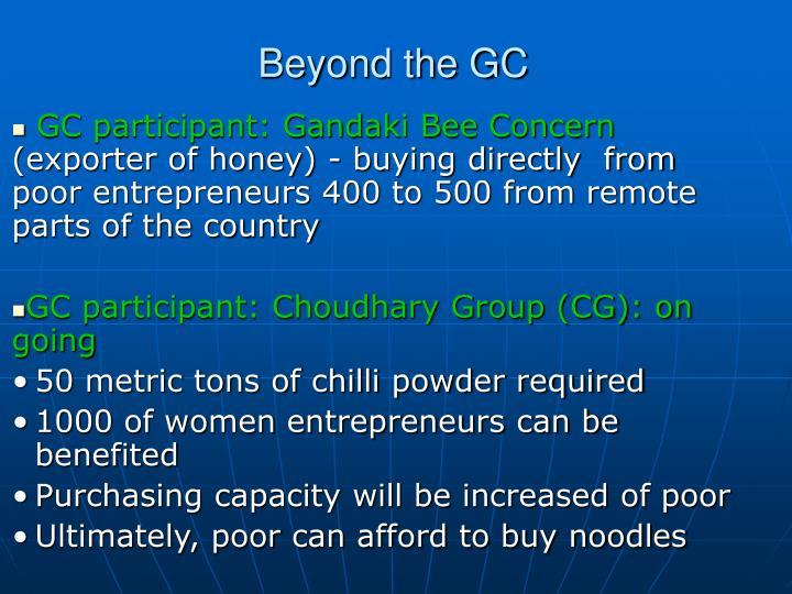 Beyond the GC